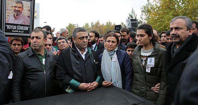 Tahir Elçi için Diyarbakır'da tören