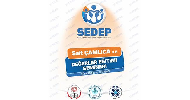 SEDEP'ten öğretmen ve öğrencilere değerler eğitimi semineri