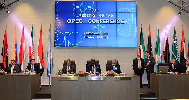 OPEC petrol üretim seviyesinde değişikliğe gitmedi