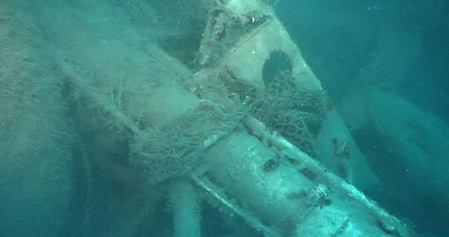 Kolombiya'da batık hazine gemisi bulundu