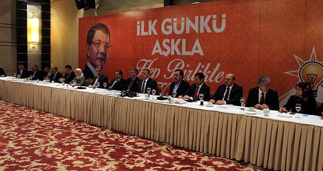 AK Parti Konya Teşkilatı ve Milletvekilleri Basınla Bir Araya Geldi