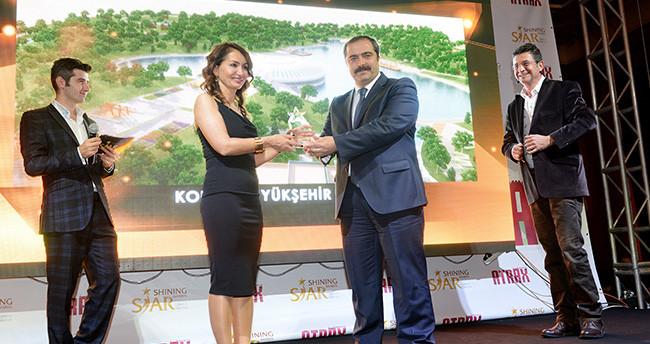 Konya Büyükşehir'in Rekreasyon Alanlarına Ödül
