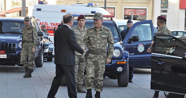 Genelkurmay Başkanı Orgeneral Hulusi Akar, Konya'da