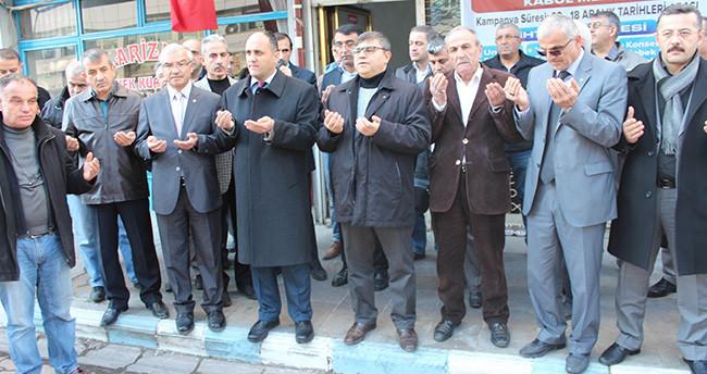 Beyşehir'de Bayır – Bucak Türkmenleri için yardım kampanyası