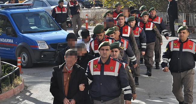 Konya'daki uyuşturucu operasyonuna 8 tutuklama