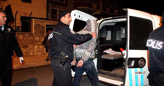 Konya'da evden hırsızlık yapan 2 kişi yakalandı