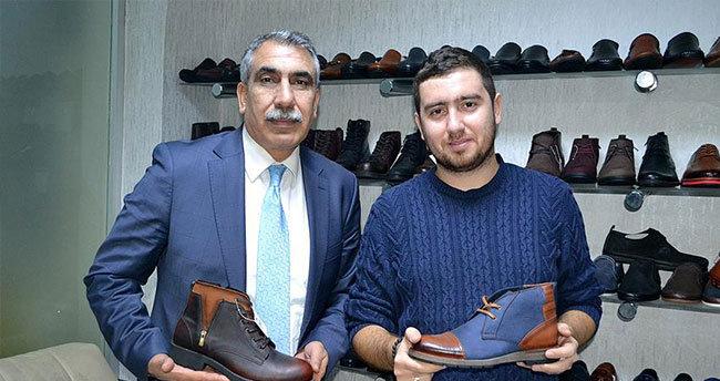 Erkek ayakkabılarına kadın eli değecek