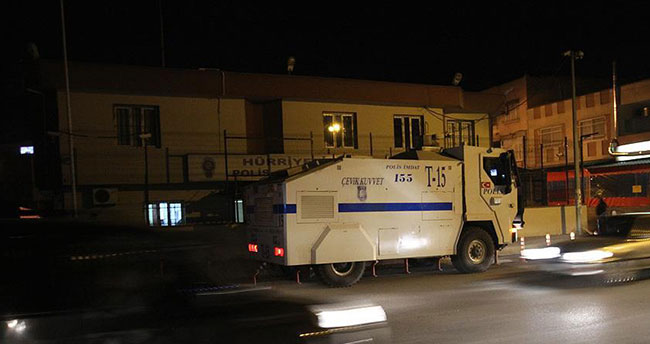 Adana'da polis merkezine silahlı saldırı