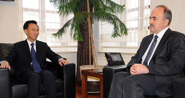 Çin'in Ankara Büyükelçisi Yu, Konya'da