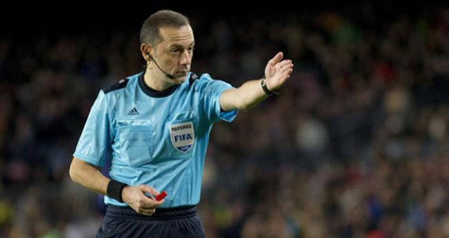Cüneyt Çakır EURO 2016'da görev alacak