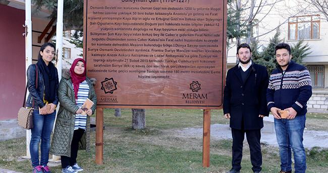 Meram'da Mahalle İsimleri Tanıtılıyor