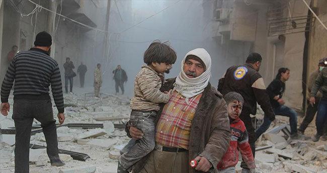 Rus uçakları Suriye'de sivilleri vurdu: 5 ölü, 20 yaralı