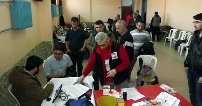 Seydişehir'de öğrenci ve velilerden kan bağışı kampanyası