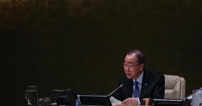 BM Genel Sekreteri Ban: Suriye'de çözümü bir kişiye bağlamak kabul edilemez