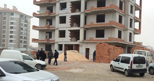 Konya'da iş kazası : 1 ölü