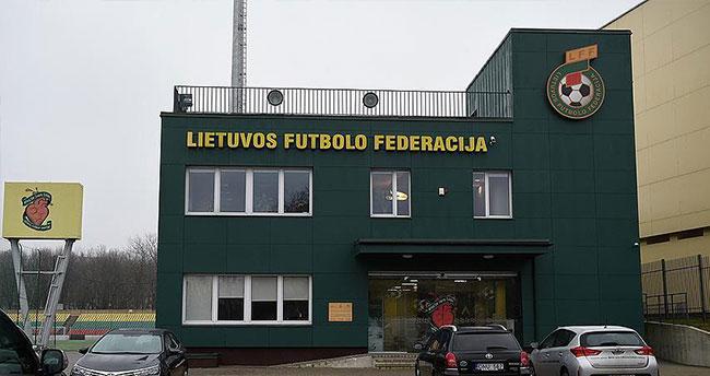 Litvanya Futbol Federasyonu binasında arama yapıldı