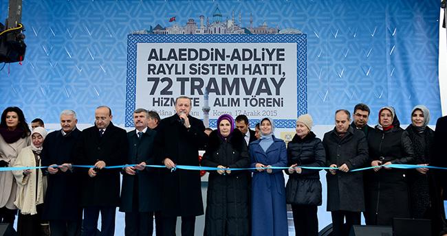 Yeni Türkiye'nin Lokomotif Şehri Konya