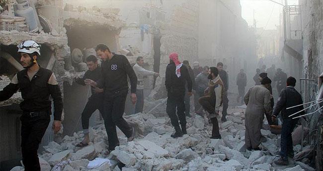 Rus uçakları yerleşim yerini vurdu: 16 sivil öldü