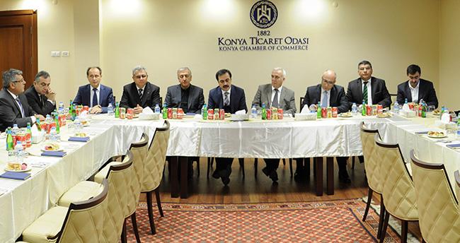 TBB Başkanı Hüseyin Aydın KTO'yu Ziyaret Etti