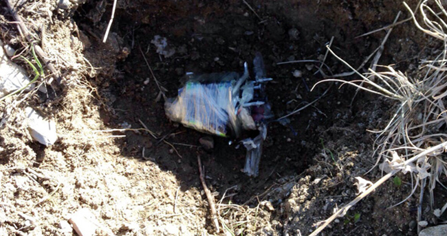 Teröristler Şırnak'ta anaokulu bahçesine patlayıcı bıraktı