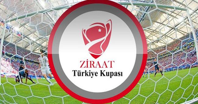 Ziraat Türkiye Kupası'nda maçlar başlıyor