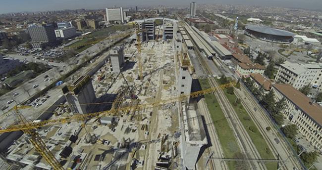 Ankara Yüksek Hızlı Tren Garı sinyalizasyon sistemlerini TÜBİTAK geliştirecek