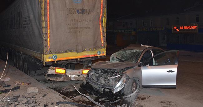 Konya'da trafik kazaları: 1 ölü, 3 yaralı