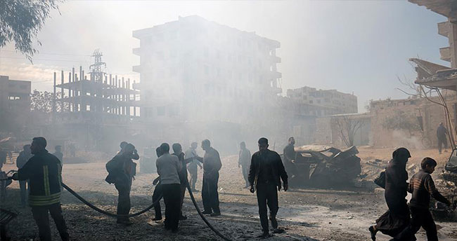 Rus ve Esed güçleri sivilleri vurdu: 30 ölü