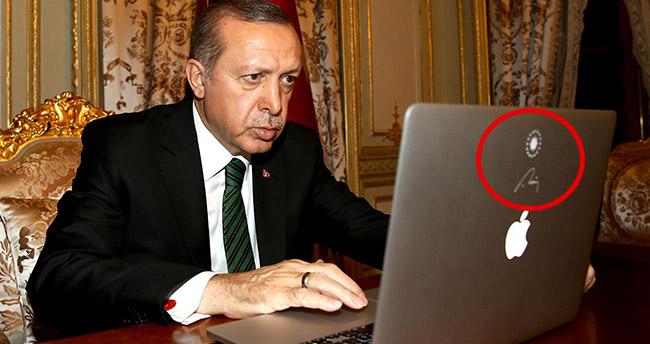 Apple'dan Erdoğan'a özel Forslu MAC