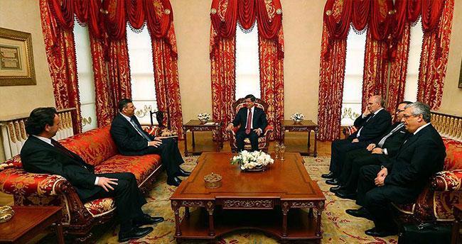 Başbakan Davutoğlu Halit Hoca'yı kabul etti