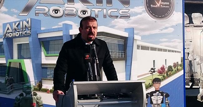 Türkiye'nin ilk insansı robot fabrikasının temeli atıldı
