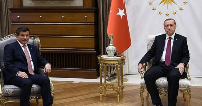 Cumhurbaşkanı Erdoğan, Davutoğlu görüşmesi sona erdi