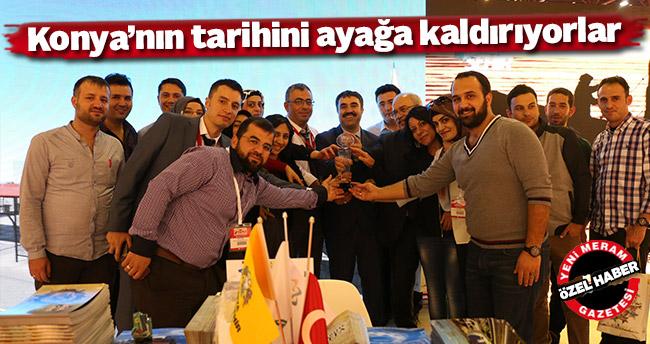 Konya'nın tarihini ayağa kaldırıyorlar