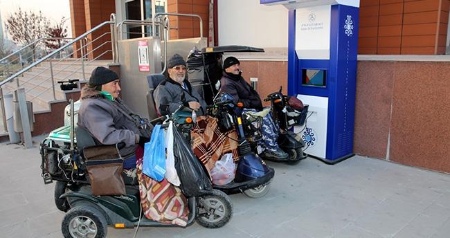 Selçuklu'da engelli aracı şarj istasyonları hizmete girdi