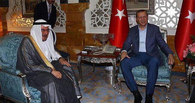 Erdoğan İİT Genel Sekreteri Medeni'yi kabul etti