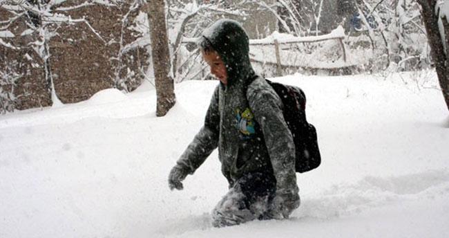 Konya'nın bu ilçesinde eğitime kar engeli!