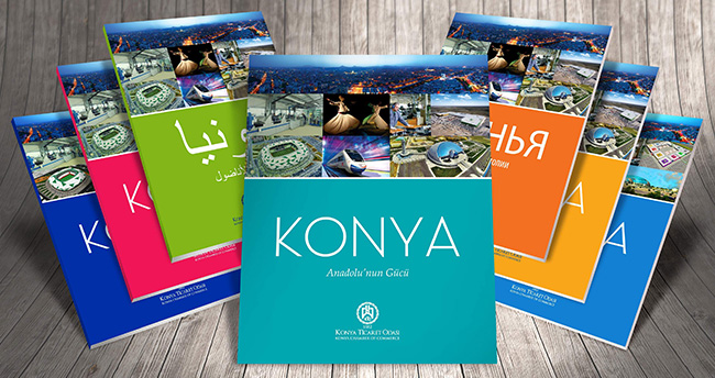 KTO 7 dilde Konya tanıtım kitabı hazırladı