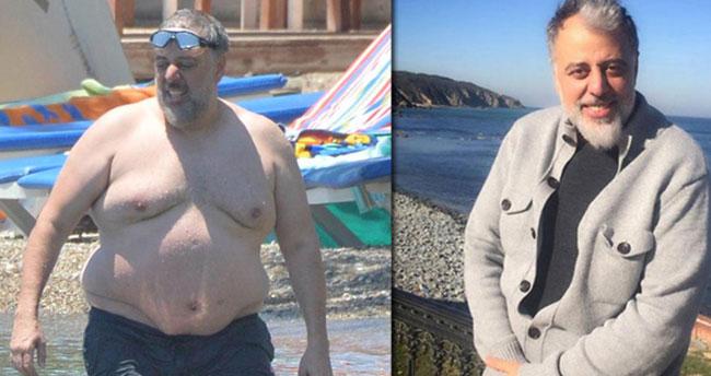 Hamdi Alkan 4 ayda 44 kilo verdi