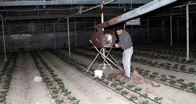Çiftçilerden zirai don nöbeti