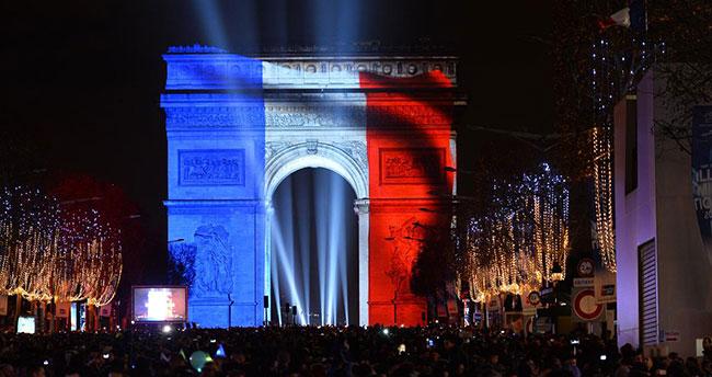 Fransa'da yeni yıl kutlamaları