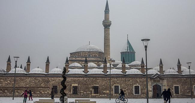 Konya hava durumu! Konya'da kar yağışı devam edecek mi?