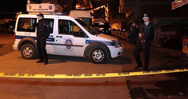 Eyüp'te polise saldırı