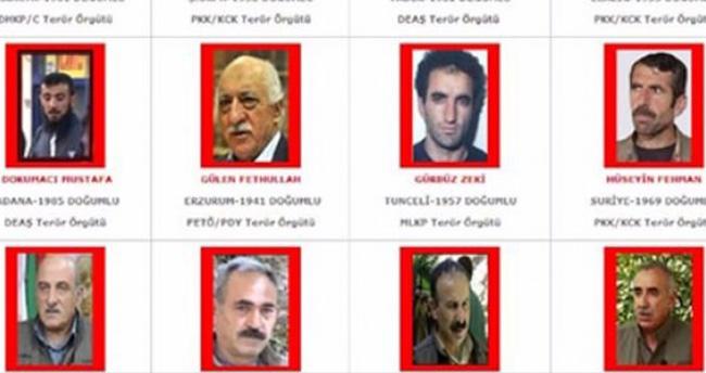 Türkiye'de milyonluk terörist avı!