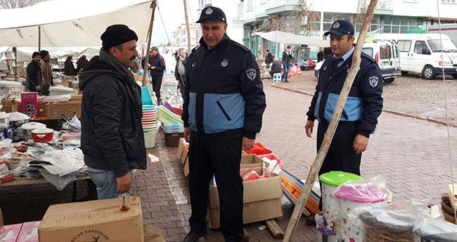 Beyşehir'de Zabıtadan Pazar Yeri Denetimleri