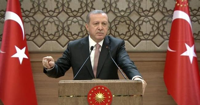 Erdoğan'dan İran'a sert tepki : Bıçak kemiğe dayandı