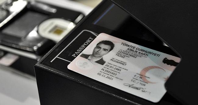 Yeni kimlikler 3 yıl içinde tüm vatandaşlara verilmiş olacak
