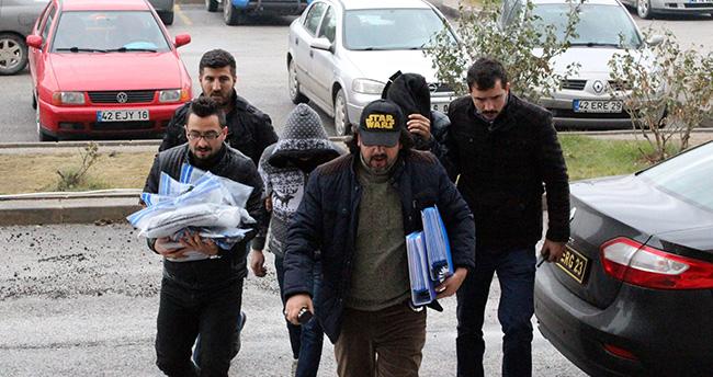 Ereğli'de Maskeli Hırsızlar Tutuklandı