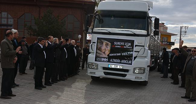İHH'dan Bayırbucak Türkmenlerine yardım