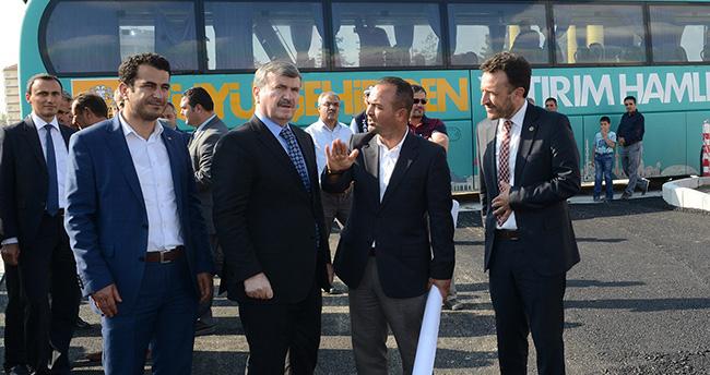Konya Büyükşehir'den yol çalışmalarında rekor