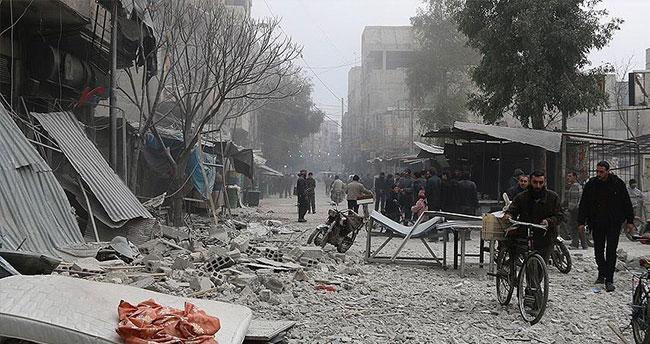 Rus jetleri sivilleri vurdu: 12 ölü, 65 yaralı